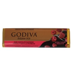 Godiva Dark Chocolate -Raspberry Bar 43g-1.5oz