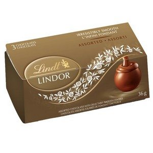 Lindt Lindor Chocolate Truffles 3 Pack Asst Gold 36g-1.27oz