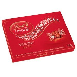 Lindt Milk Chocolate Gift Box Small Red 120g