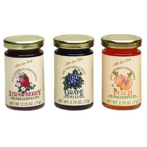 Mille Lacs Jam & Jelly Asst Flavors Large 77g-2.75 oz-1 piece
