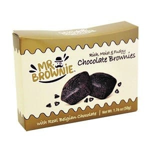 Mr. Brownie 2 Pk Gold-Beige 1.8 oz-50g