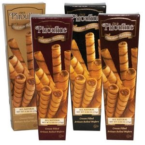 Pirouline Chocolate Hazelnut Cream Filled Wafers Duo Pack 25g-.88 oz- 1 piece