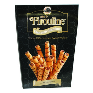 Pirouline Wafers Large Box Black 100g-3.5 oz