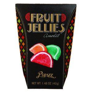 Pizazz Fruit Jellies Black 1.48 oz-42g
