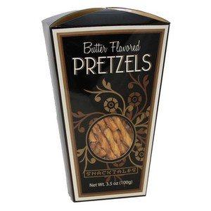Snacktales Butter Pretzels Black 3.5 oz-100g