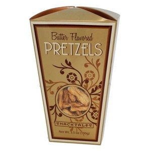 Snacktales Butter Pretzels Gold 3.5 oz-100g