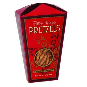 Snacktales Butter Pretzels Red 100g-3.5oz