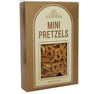 Snacktales Mini Pretzels Gold-Beige 57g-2oz