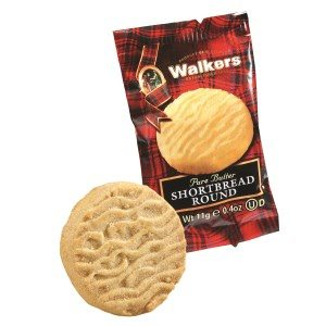 Walkers Shortbread Single Round 11g- 0.4oz
