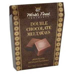 World's Finest Double Chocolate Meltaways Brown 1.4oz-39g