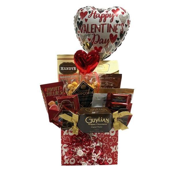 X&Os Valentine Gift Basket