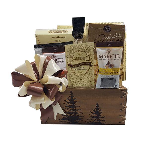 Chocolate Treasure Gift Basket