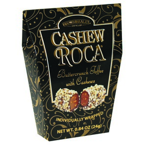 Brown & Haley Cashew Roca ToteBlack 24g-.84 oz