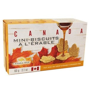 Canada True Mini Maple Cookies 60g