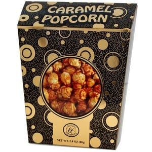 Comfort Collection Caramel Popcorn Black 80g-2.8oz