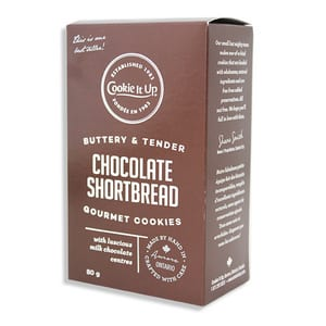 Cookie It Up Chocolate Shortbread 80g