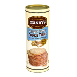 Mandy's Simply Sugar Cookie Thins 4.6 oz-130g