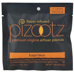 Pizootz Peanuts Baja Taco 1.45 oz-41g