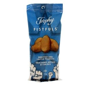 Trophy Foods Roasted & Salted Peanuts 70g
