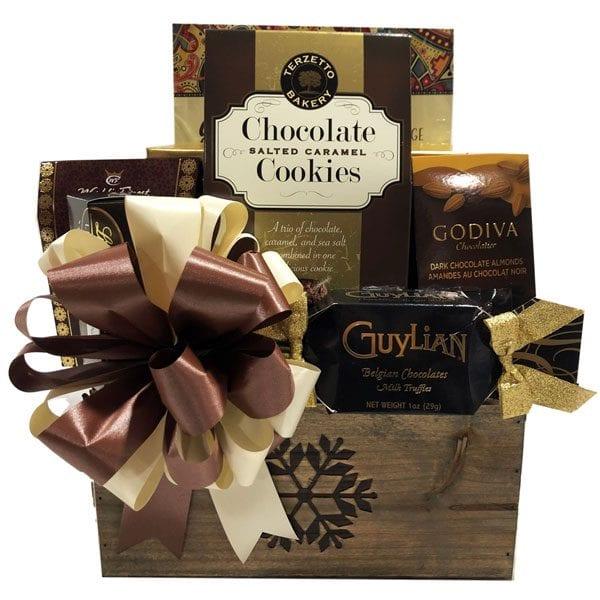 Fireside Chocolate Gift Basket