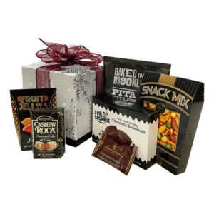 Premium Snowflake-a beautiful keepsake gift box filled with delicious munchies and treats!