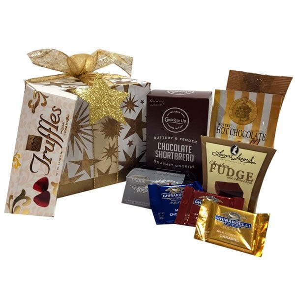 Starburst Christmas Gift Box