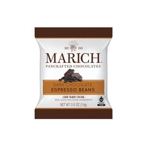 Marich Dark Chocolate Espresso Beans .5oz-14g
