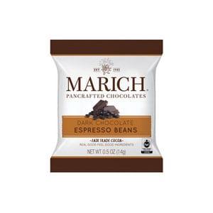 Marich Dark Chocolate Espresso Beans .5oz-14g