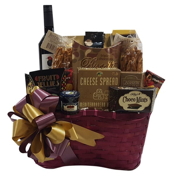 Luxury Wine Gift Basket