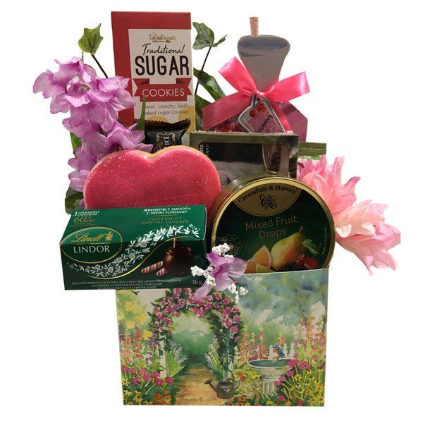 Garden View Gift Basket