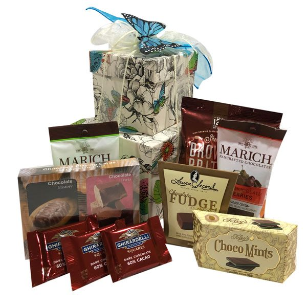 The Chocolate Tower Gift Basket