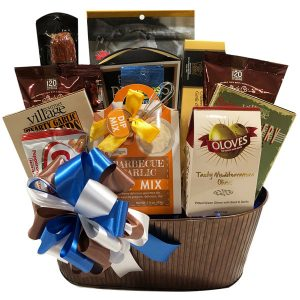 Men's BBQ and Snacks Gift Basket