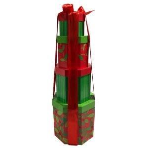 Mistletoe Gift Tower