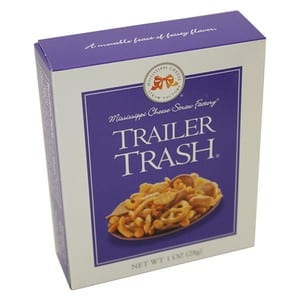 Mississippi Cheese Straw Trailer Trash Snack Mix 1 oz