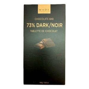 Made-chocolate-bar-73%-Dark-100-gr