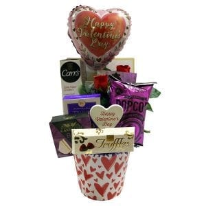My Heart Is Yours Valentine's Day Gift Basket