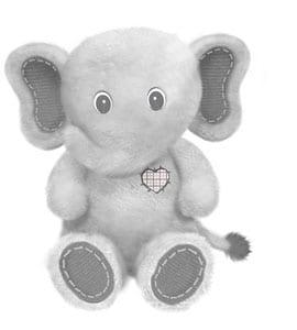 Elephant-Plush-8-inch