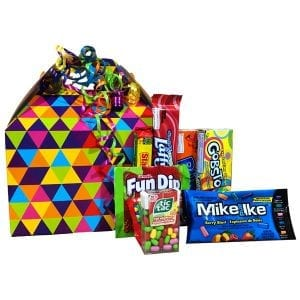 Happy Day Candy Gift Box-filled with gluten free and nut free products.