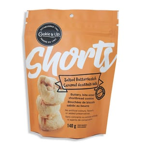 Cookie It Up Shorts Salted Butterscotch 140g