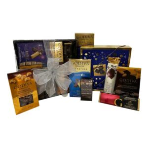 Godiva Chocolate box, filled with all the best of Godiva!